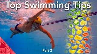 Top 20 tips for swimming. Part 2.