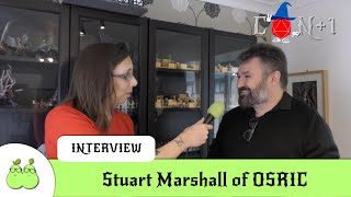 OSRIC Interview with Stuart Marshall