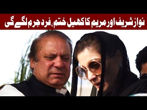 Nawaz Sharif and Maryam Nawaz to be indicted on October 13 - Headlines - 12 PM - 9 Oct 2017