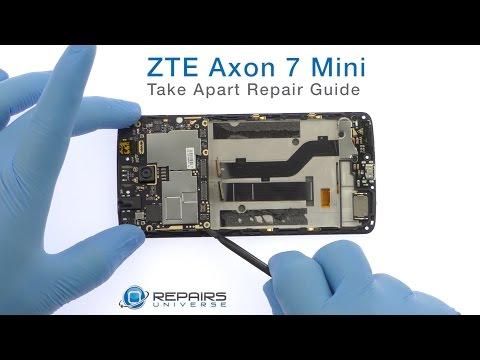 ZTE Axon 7 Mini Take Apart Repair Guide - RepairsUniverse