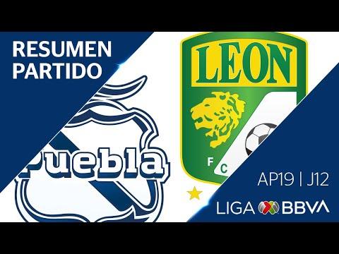 Resumen y Goles   Puebla vs León   Jornada 12 - Apertura 2019   Liga BBVA MX