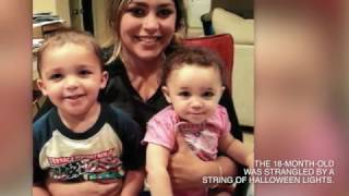 Mother faces charges of strangling daughter with Halloween lights