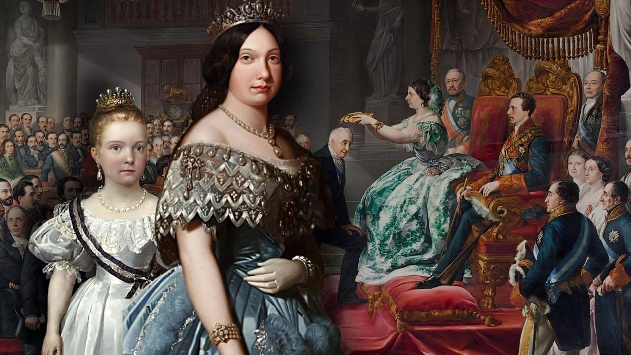 Isabel Ii De Espana La Reina De Los Tristes Destinos Youtube