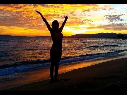 Sunset Beach Yoga Sun Salute Mix Mallorca