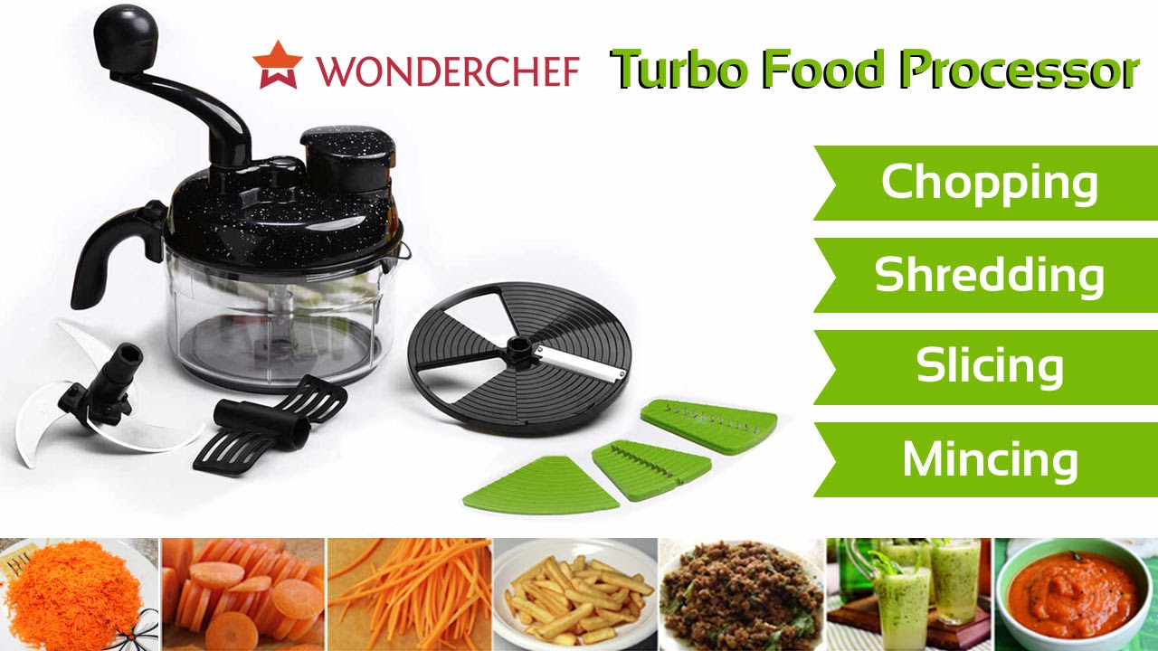 Bon Wonderchef Turbo Food Processor   YouTube