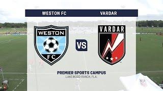Development Academy Showcase: U-15/16 Weston FC vs. Vardar