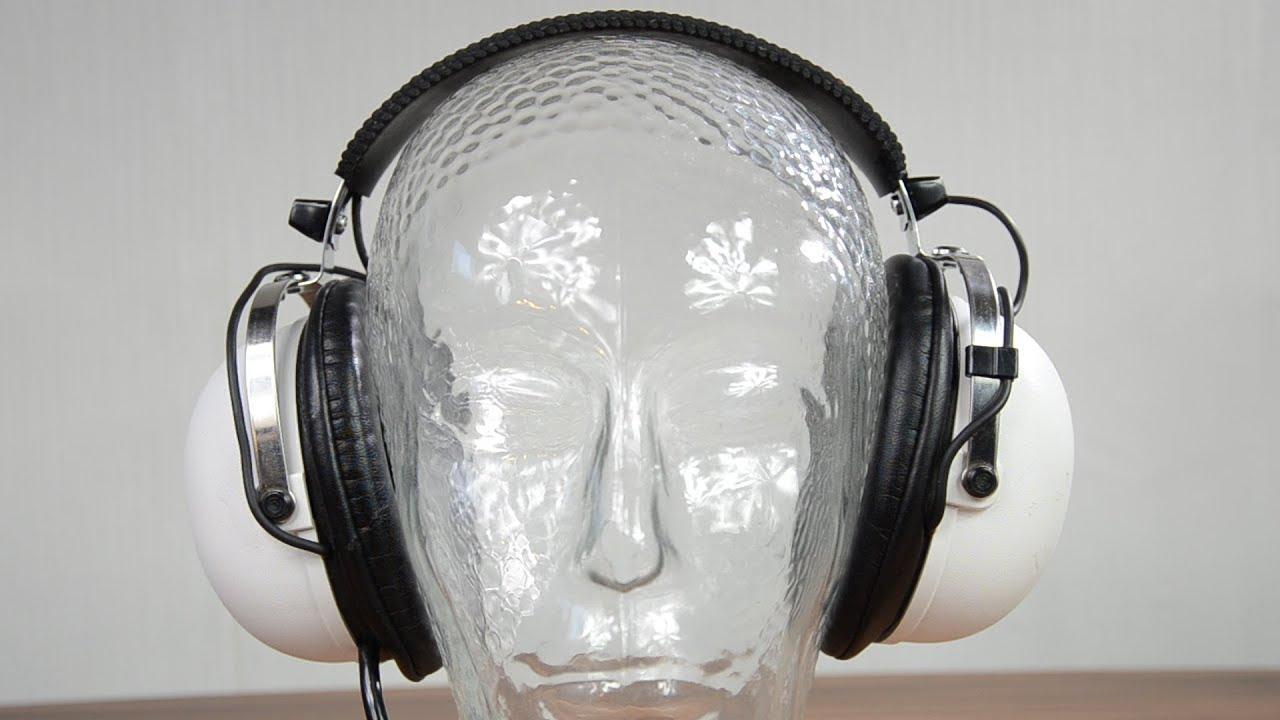 d9af3c13d79 Vintage Pioneer Se-20a headphones SPL dB sound test + quick review ...