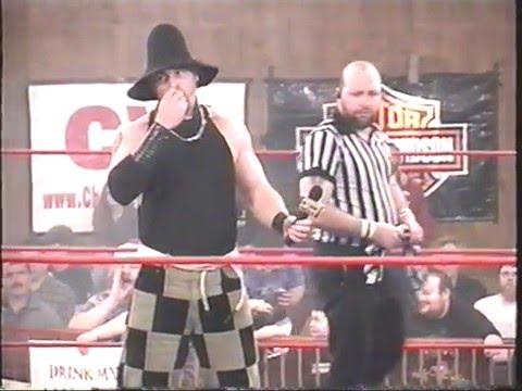 "Cold Fury #1 - ""The Extreme Strongman"" Gino Martino vs Scarecrow"