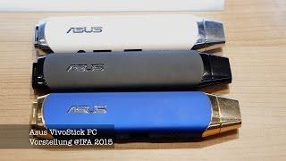 IFA 2015: Vorstellung des Asus VivoStick PC