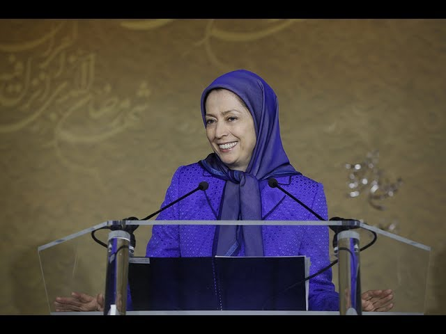 "Maryam Rajavi addresses ""Interfaith Solidarity Against Extremism"""