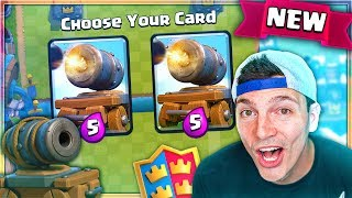WIN CANNON CARTS! New Draft Challenge Clash Royale Update!