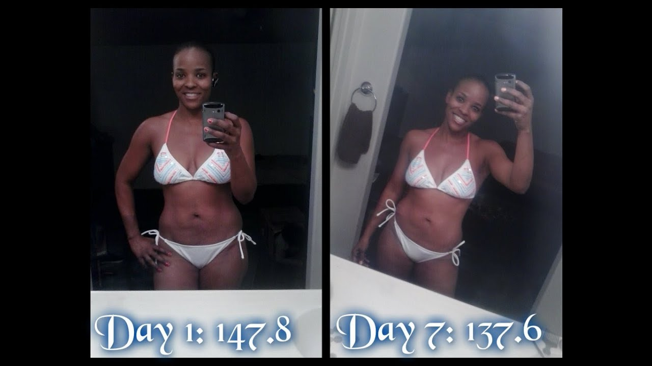 Master Cleanse Week 1 Update Before Amp After Pics Plus