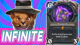 Infinite Aluneth Mage Part 2 | Wild Hearthstone