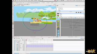 Harmony 9 and Storyboard Pro 3D Launch Tour - Harmony: Scene Planning