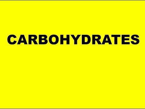 BIOLOGICAL MOLECULES: CARBOHYDRATES (Core concepts)