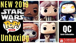 NEW Funko Star Wars POP!s Return of the Jedi - Unboxing and review (2019)