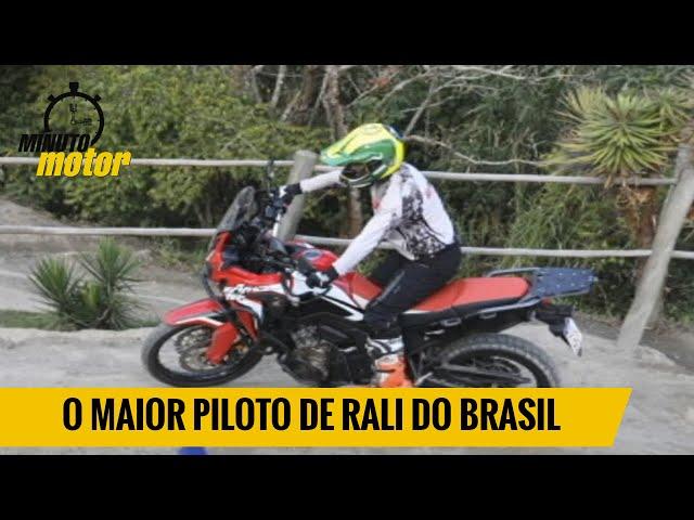 O maior piloto de rali do Brasil