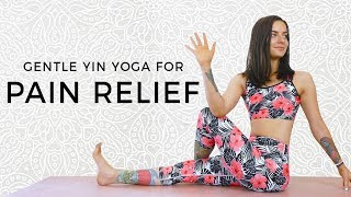 Yin Yoga for Complete Relaxation ♥ Gentle Morning or Bedtime Flow, Full Body Stretch, Beginner Class