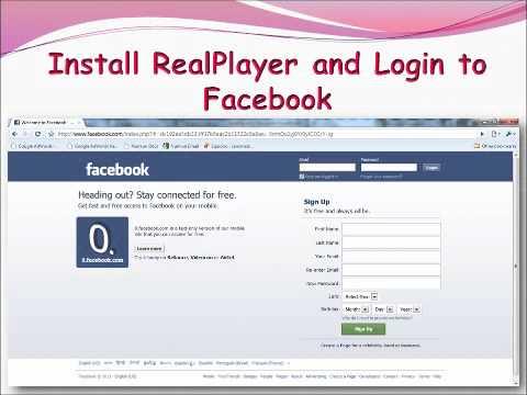 video fb realplayer