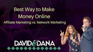 Affiliate marketing or network ...