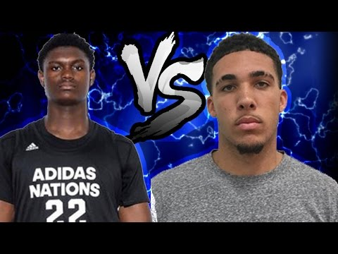 LIANGELO BALL VS ZION WILLIAMSON 1V1! ZION IS UNGUARDABLE IN THE PAINT!!