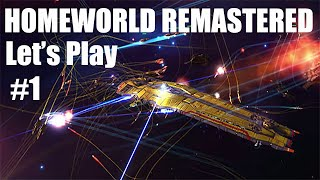 HOMEWORLD REMASTERED COLLECTION - Gameplay with commentary - episode 1