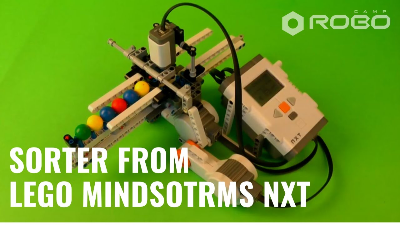 Sorter - LEGO Mindstorms NXT - YouTube