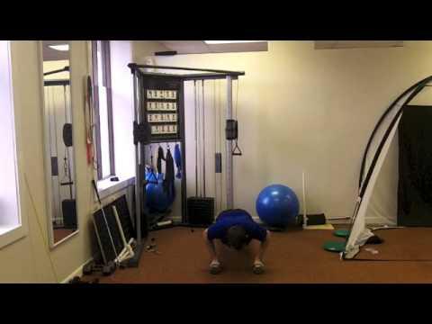 Quick 20min Upper Body Golf Workout
