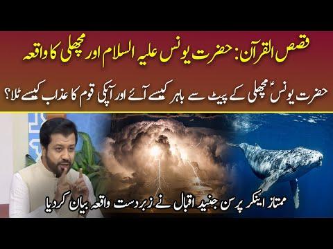 Hazrat Younus (A.S )Aur Machli ka Waqia   Qasas al Quran   04 May 2021   92NewsHD