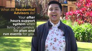 Living on campus | Trisha talks residential life.