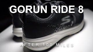 Skechers GoRun Ride 8 After 100 Miles