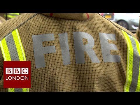 London Fire Brigade's new uniform - BBC London