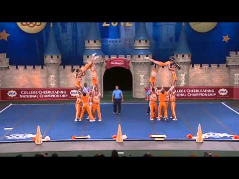 2012 University of Tennessee Coed Cheer