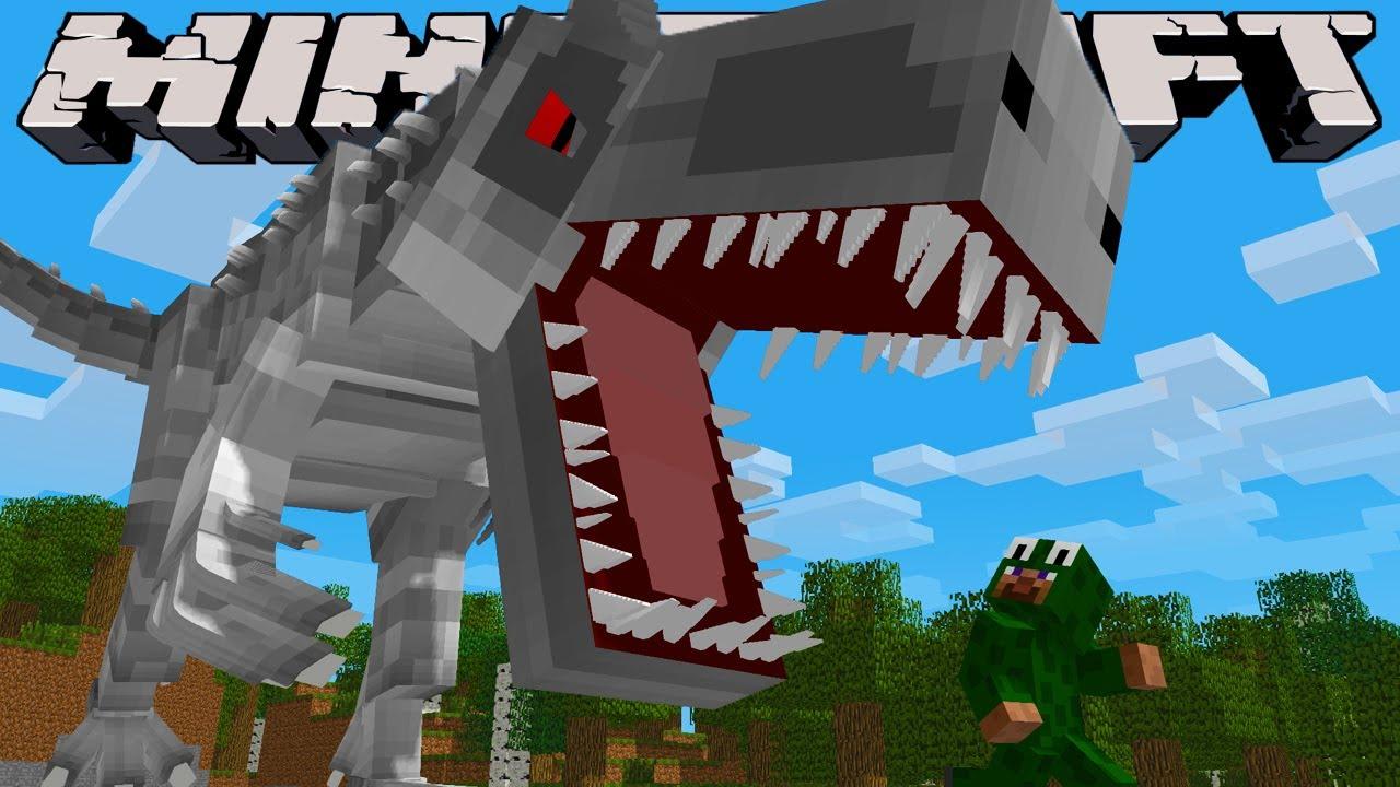 Hướng dẫn tải Minecraft Công Viên Khủng Long Mod – Jurassic World – HD