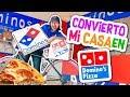 Convierto Mi Casa En Un DOMINO'S PIZZA 🍕 PIZZERIA Se Sale de Control 💥Conny - Vloggeras Fantásticas