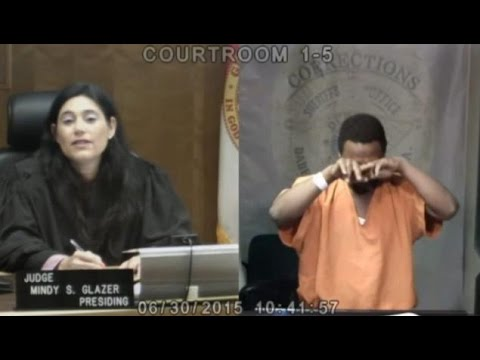 A South Florida US judge recognises old school friend in dock