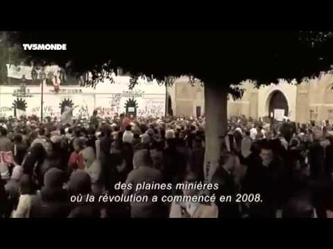 Reportage sur la Révolution en TUNISIE censuré par Bouteflika & le DRS en Algerie 2013