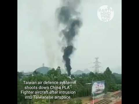 Đài Loan bắn rơi têm kích SU-35 của Trung Quốc bằng hệ thống phòng thủ tên lửa