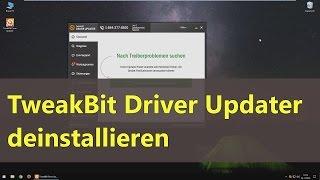 TweakBit Driver Updater deinstallieren