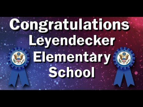 Leyendecker Elementary School Nominated for National Blue Ribbon Award