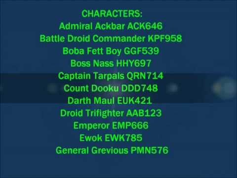 LEGO STAR WARS: THE COMPLETE SAGA - WII/XBOX/PC/PS3 - CHEATS 2017