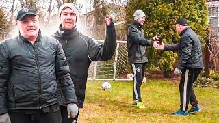 Мой ПАПА играет в футбол против меня СЫН vs ОТЕЦ