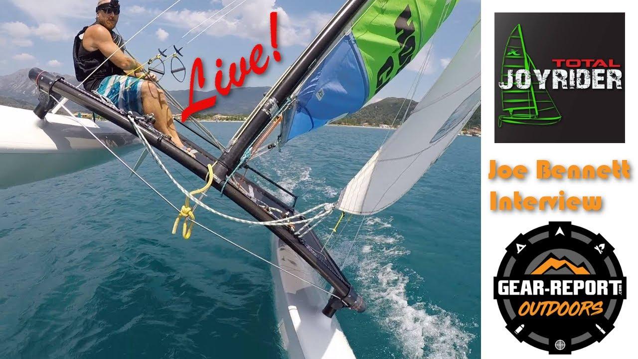 Catamaran Sailing Guru Joe Bennett of TotalJoyrider.com - Interview