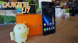 """Oukitel U7, el phablet de 5.5"""" más económico [Unbox & Review]"""