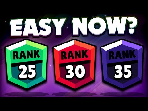 Rank 35 Is Easy Now? - TROPHY SYSTEM UPDATE You Might Have Missed! - Brawl Stars