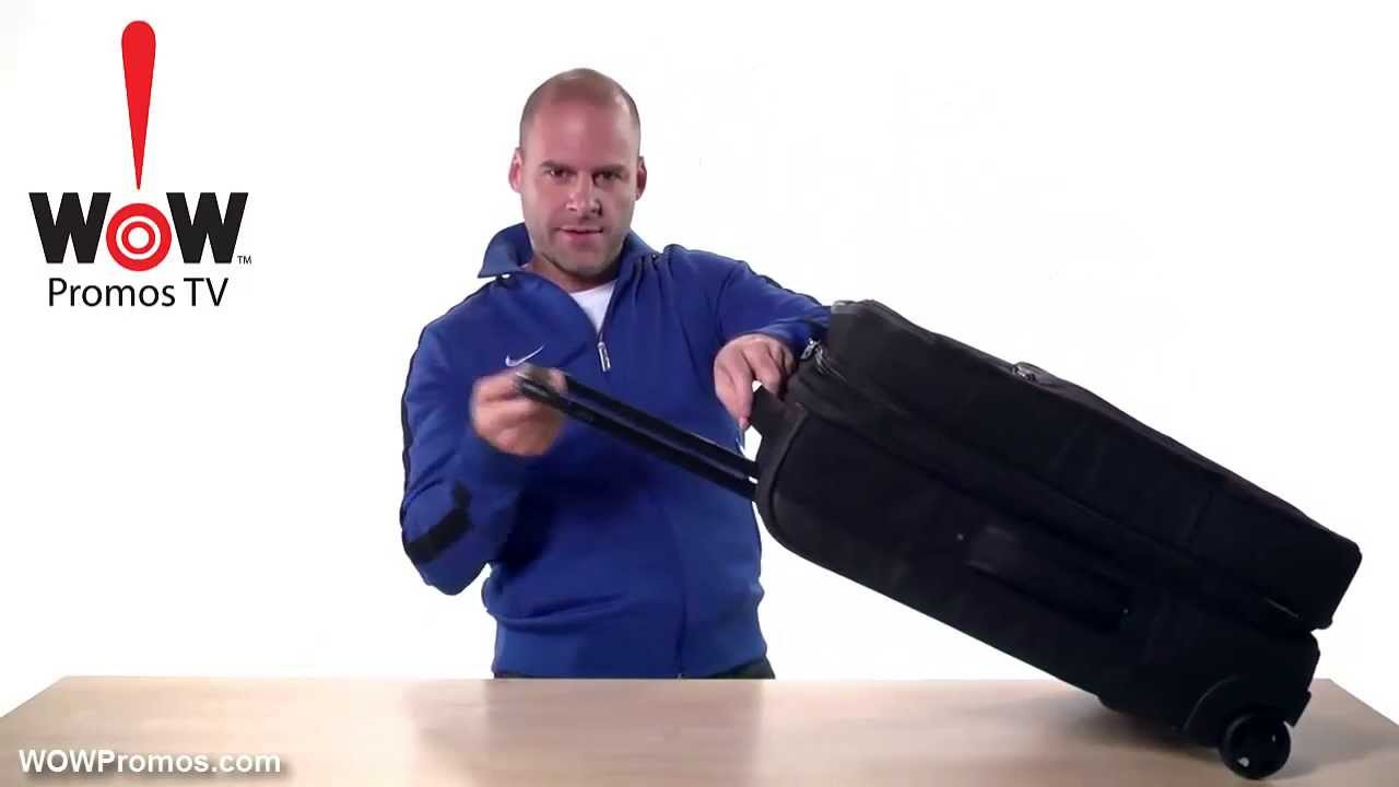 d3743ab92470 NIke Golf Elite Roller Bag from WOWPromos.com - YouTube