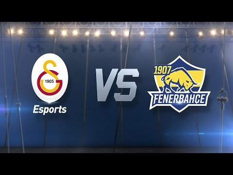 Galatasaray Esports ( GS ) vs 1907 Fenerbahçe Espor ( FB ) 1. Maç   2017 Kış Mevsimi 2. Hafta