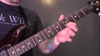 Foals - Spanish Sahara Guitar Lesson