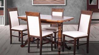 Кухонные столы из дерева. Стол обеденный Дуэт + стулья Алла. Wood Dining Table.(Стол обеденный Дуэт Представляем Вашему вниманию стол обеденный раскладной Дуэт. Каркас стола изготовлен..., 2016-05-12T14:05:06.000Z)
