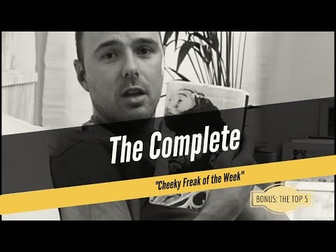 The Complete Cheeky Freak of the Week (A compilation w/ Karl Pilkington, Ricky Gervais, Merchant)